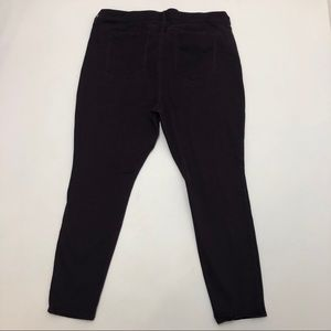 Old Navy Rockstar Plum Color Skinny Jeans 20